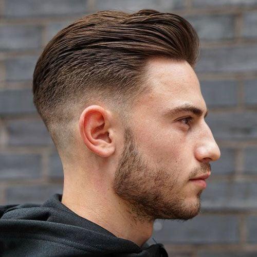 Short Slicked Back Hair