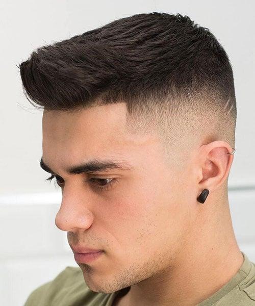 Simple Crew Cut Haircut