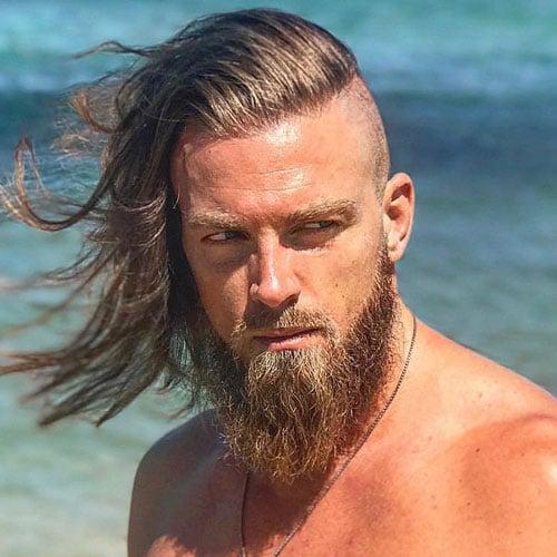 Temple Shave Viking Haircut