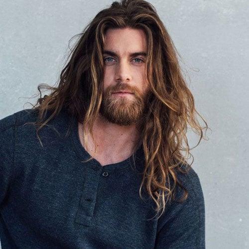 Viking Long Hair and Beard