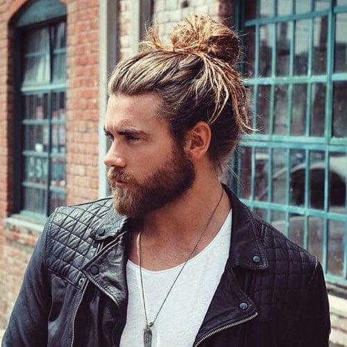 Viking Man Bun