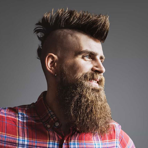 Viking Mohawk Hairstyle