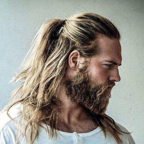 Viking Ponytail Hairstyle